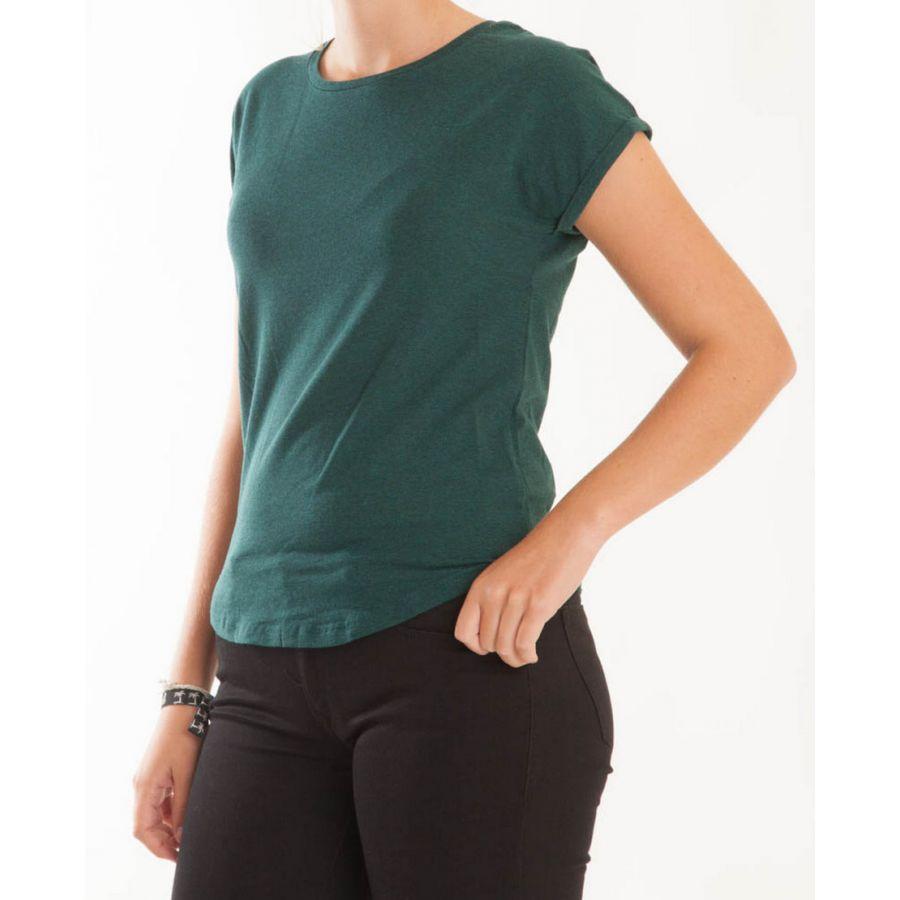 B Young Pamila t-shirt port royal combi  80332 Groen_1
