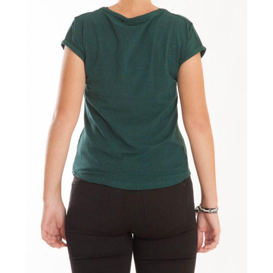 B Young Pamila t-shirt port royal combi  80332 Groen_3