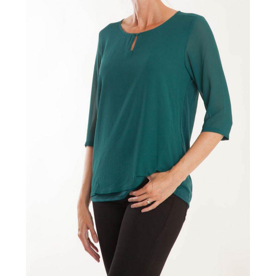 Fransa Zawov blouse atlantic deep_1