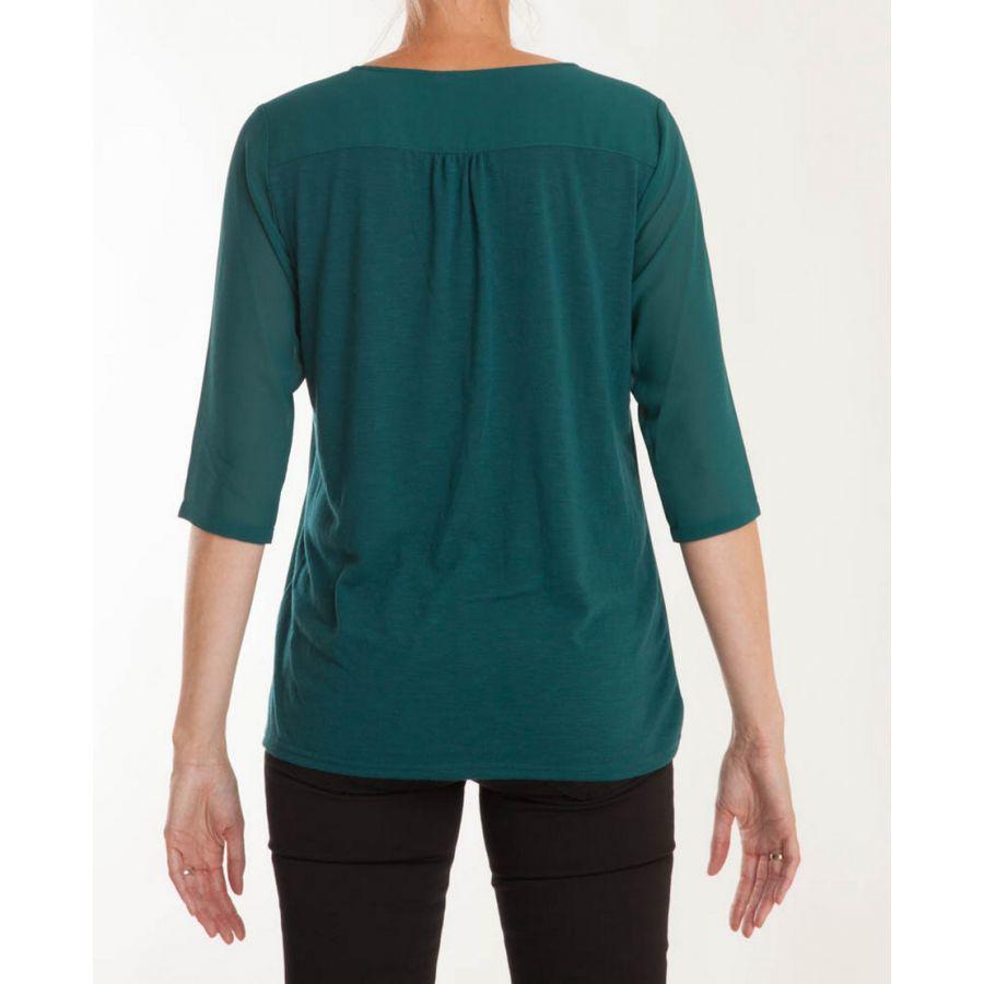 Fransa Zawov blouse atlantic deep_3