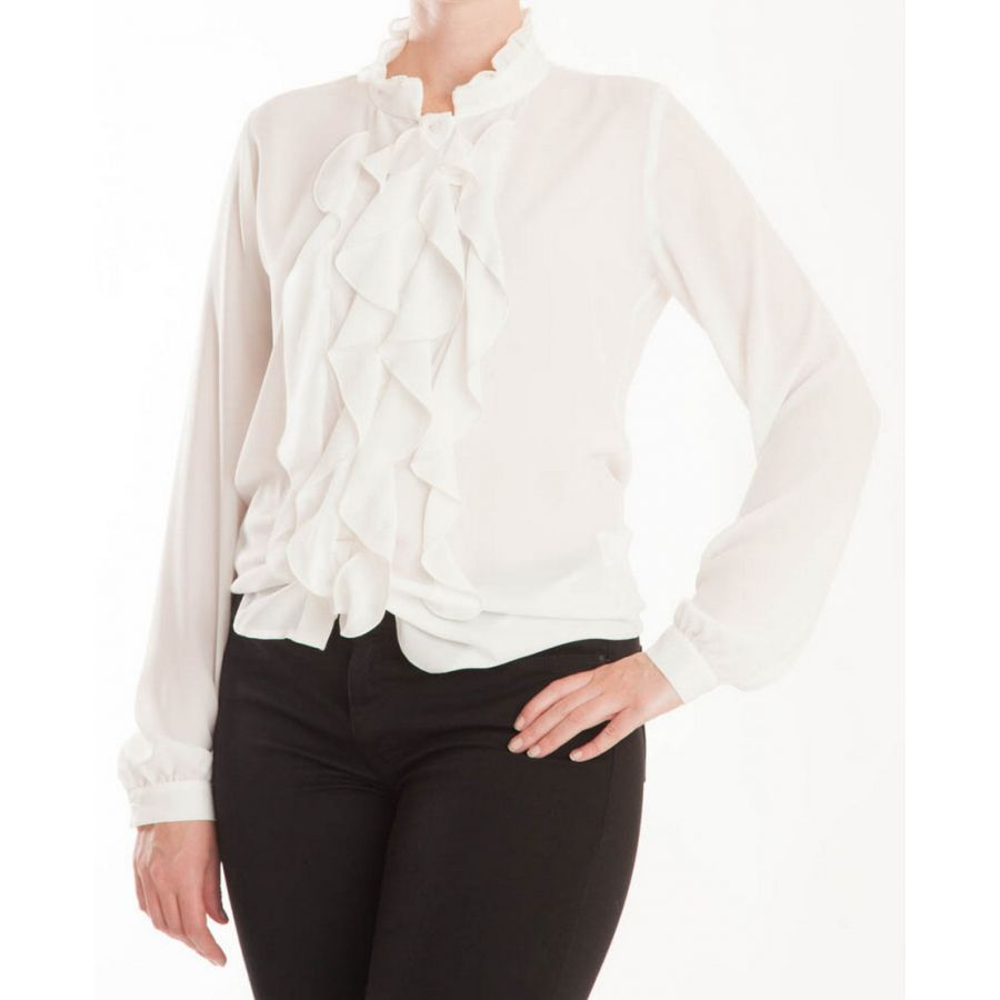 Only M Ina blouse crepon panna_1