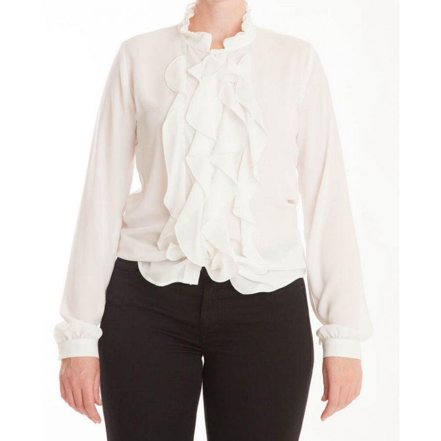 Only M Ina blouse crepon panna_2