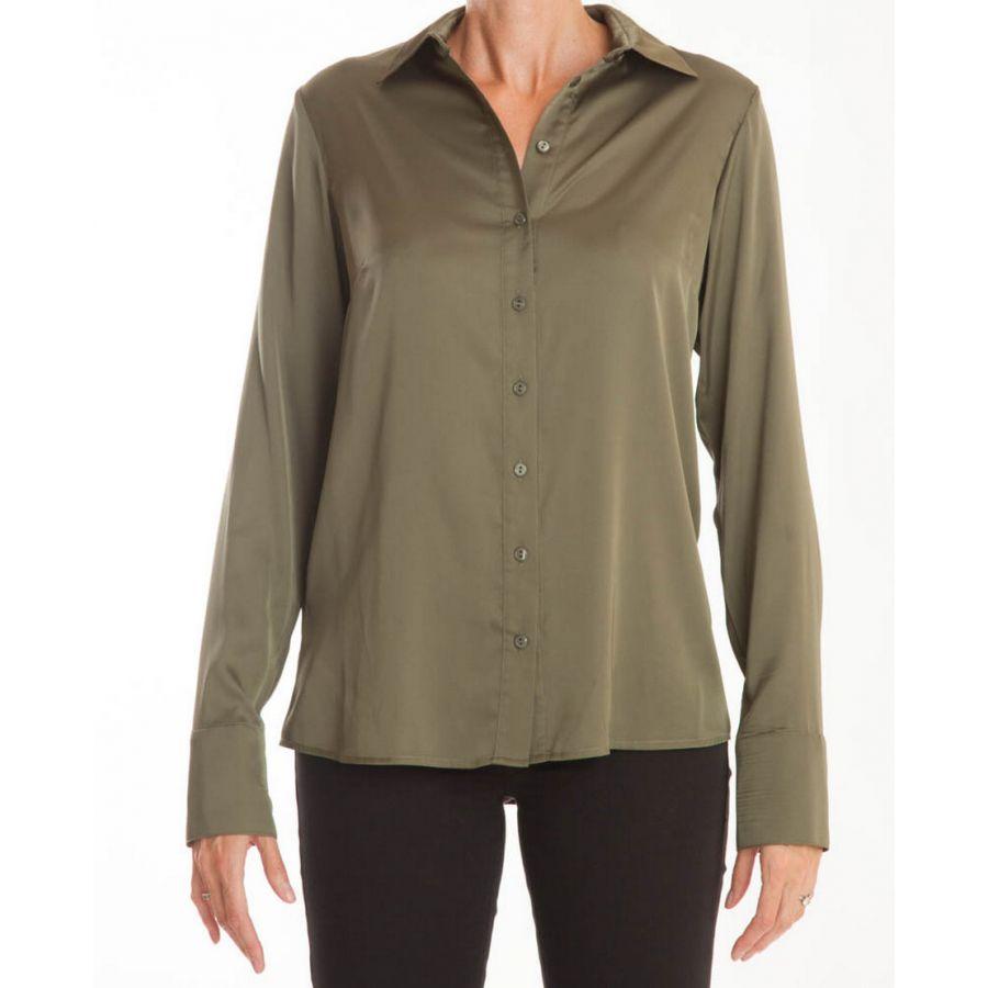Only M Vira blouse satin verde_2