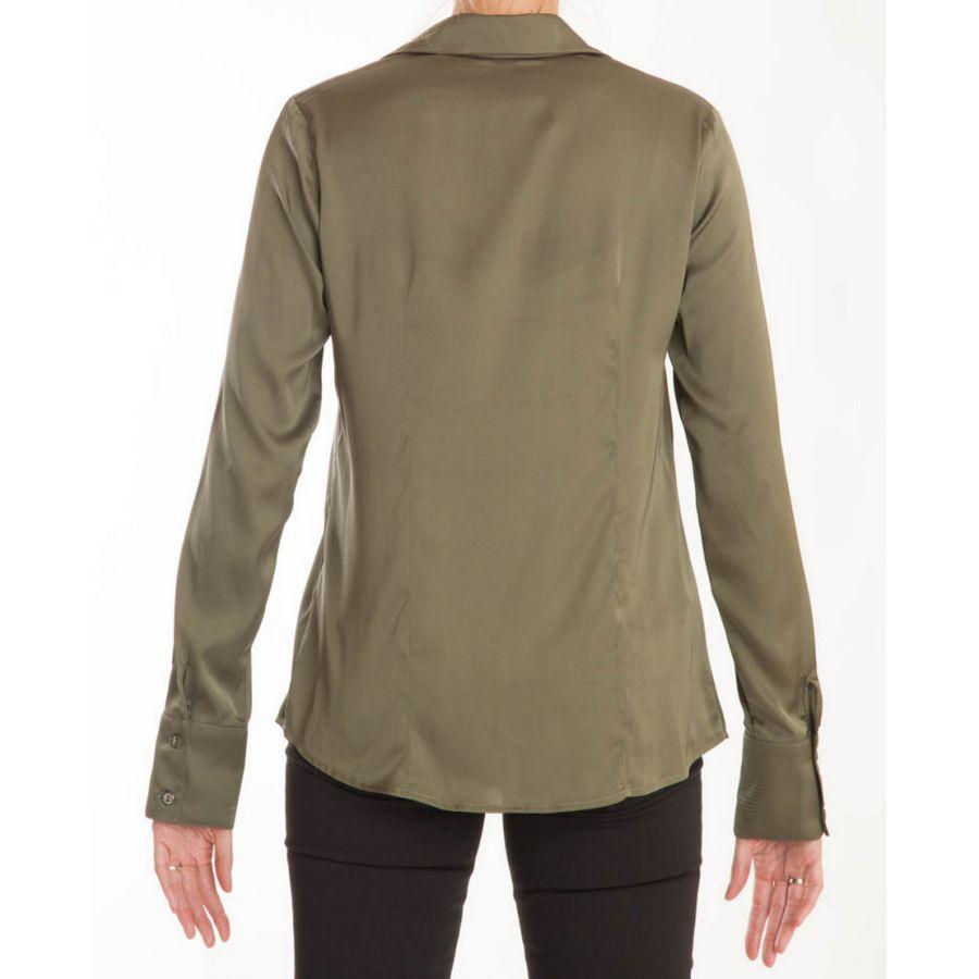 Only M Vira blouse satin verde_3