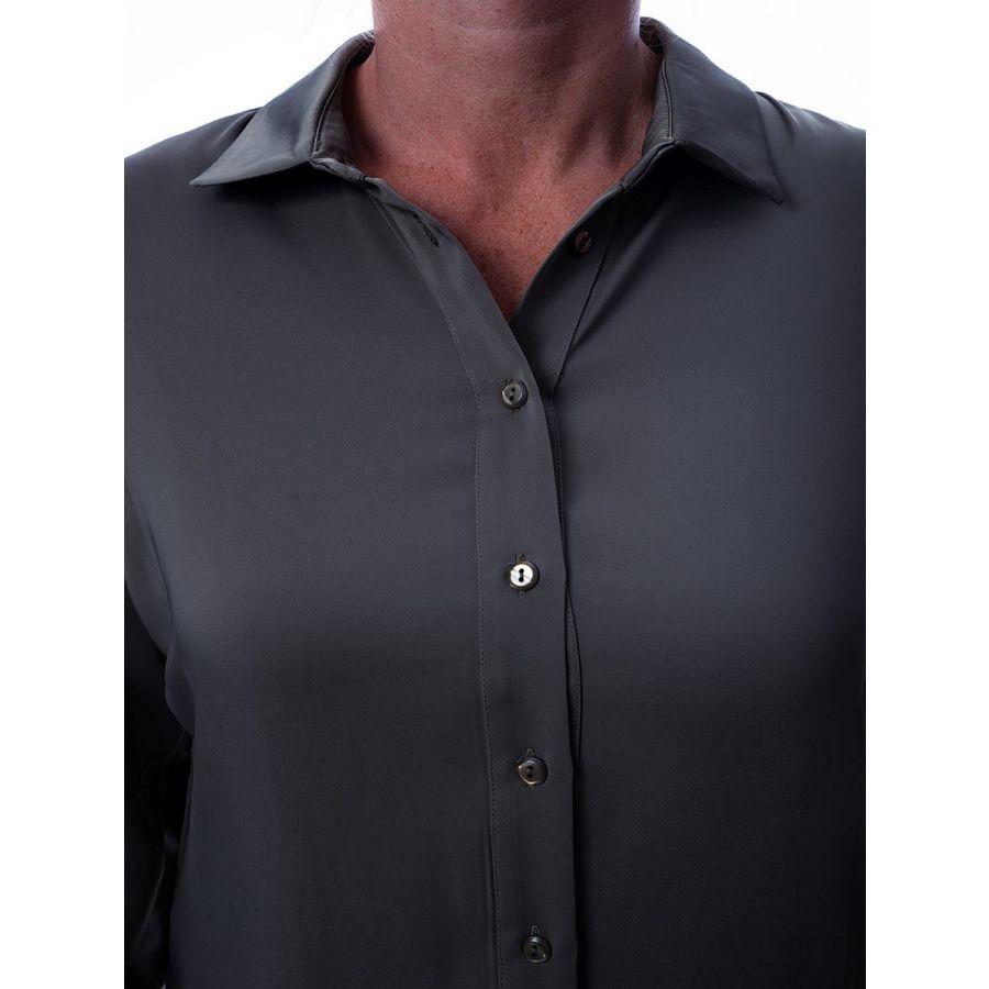 Only M Vira blouse satin verde_4