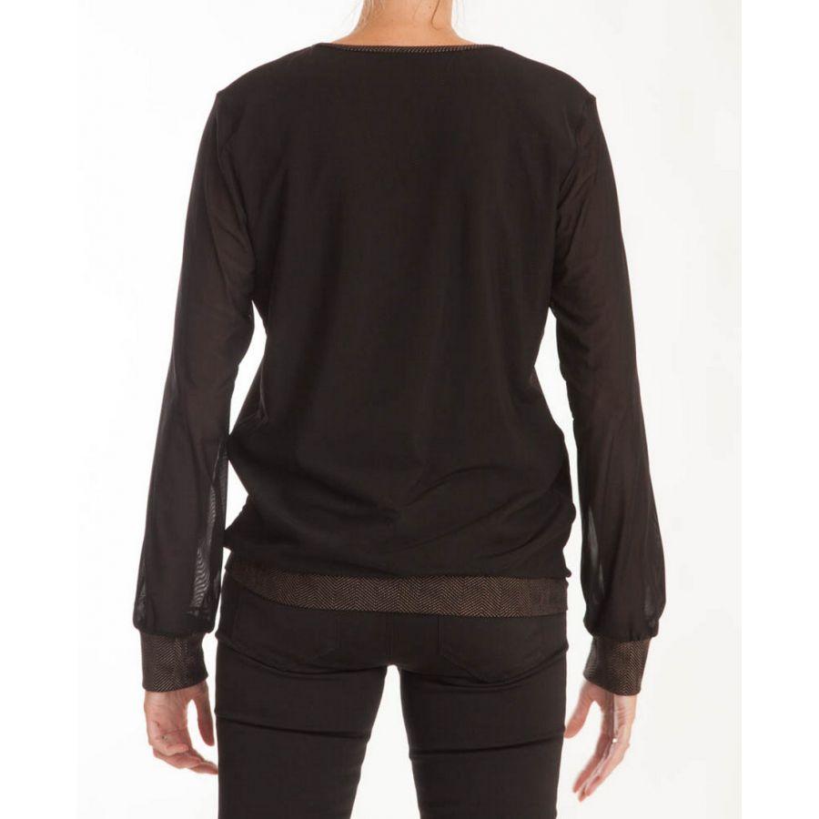 Only M Kerstin shirt tony nero oro_3