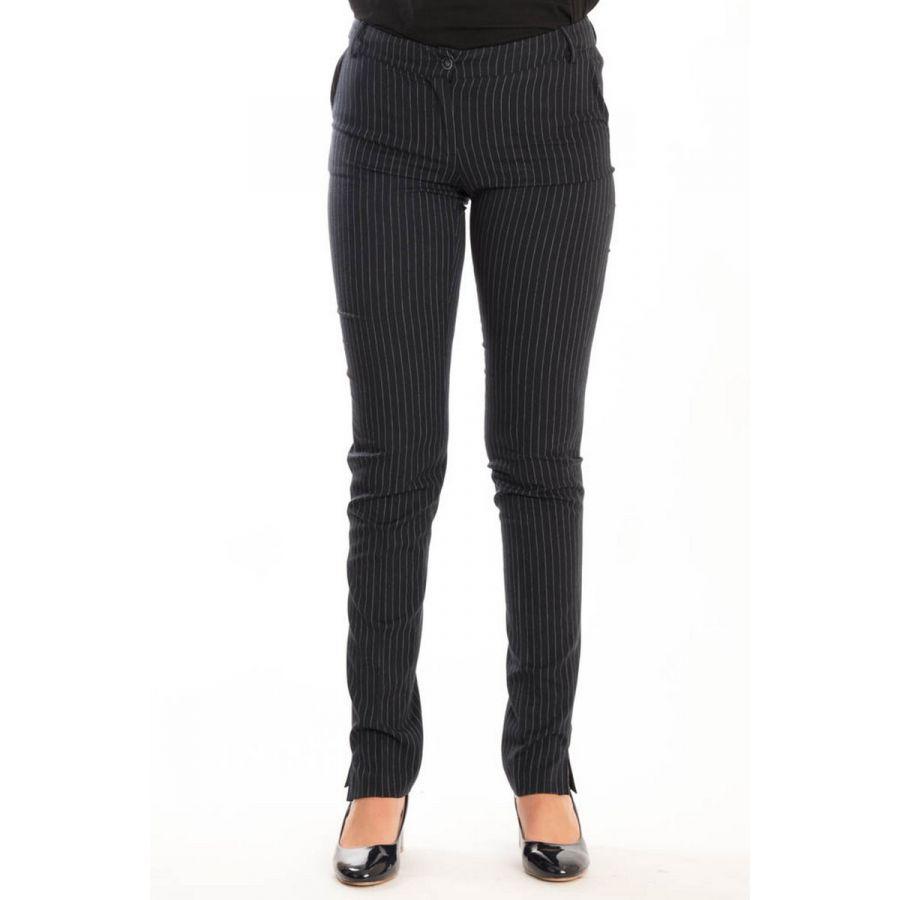 Only M Ruth pantalon navy righe_1