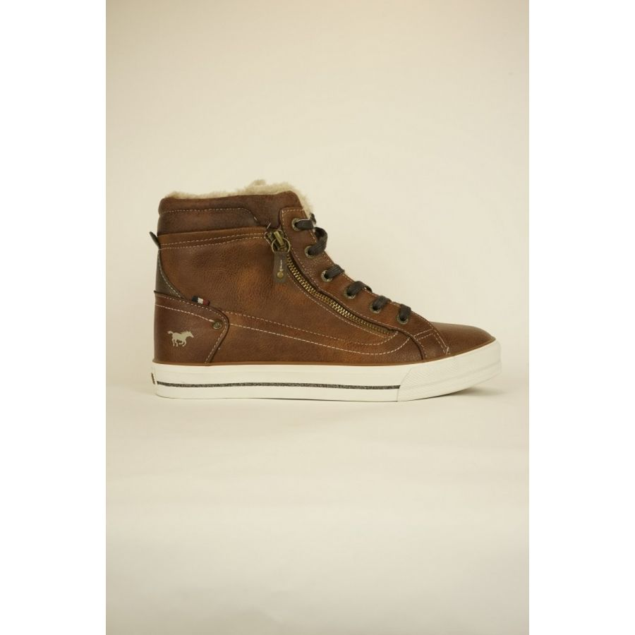 Mustang Shoes Thindra sneaker kastanje_1