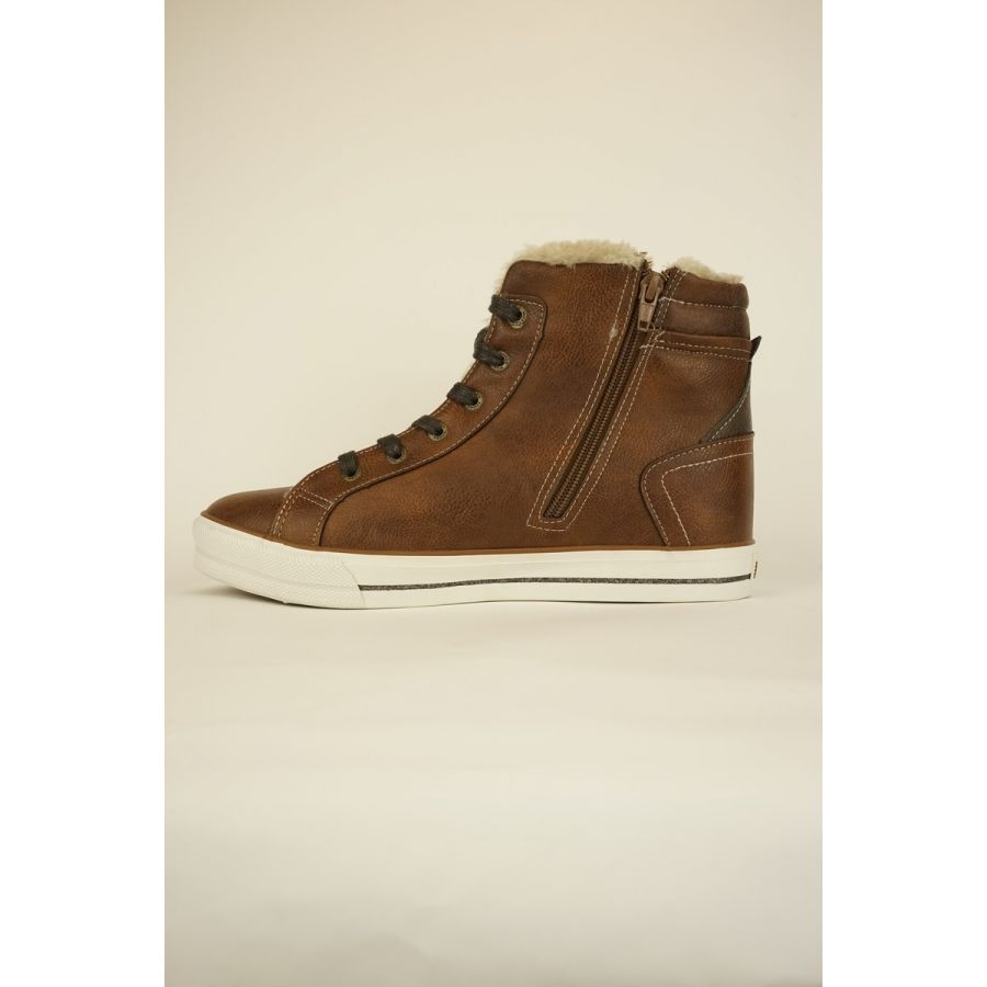 Mustang Shoes Thindra sneaker kastanje_2