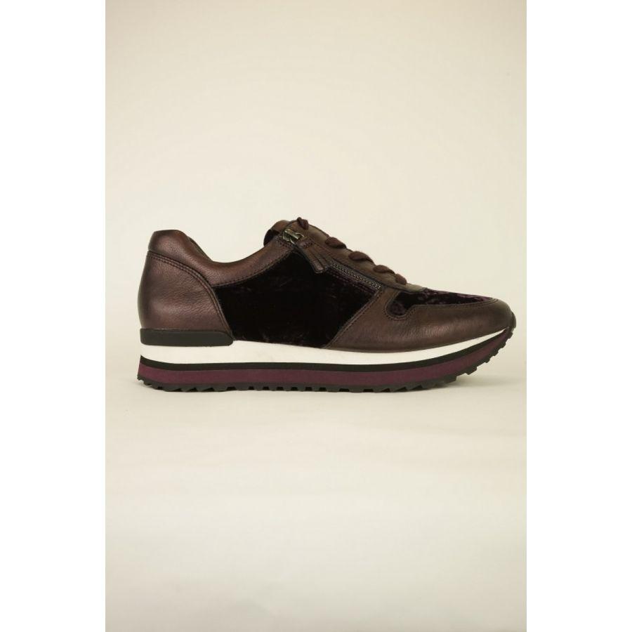 Gabor Zara sneaker bordeaux combi_1