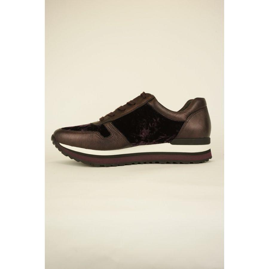 Gabor Zara sneaker bordeaux combi_2