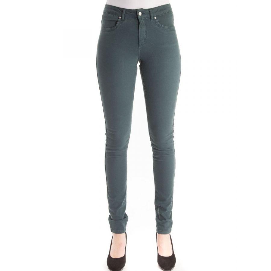 Only M Donna Skinny cotton dark green_1