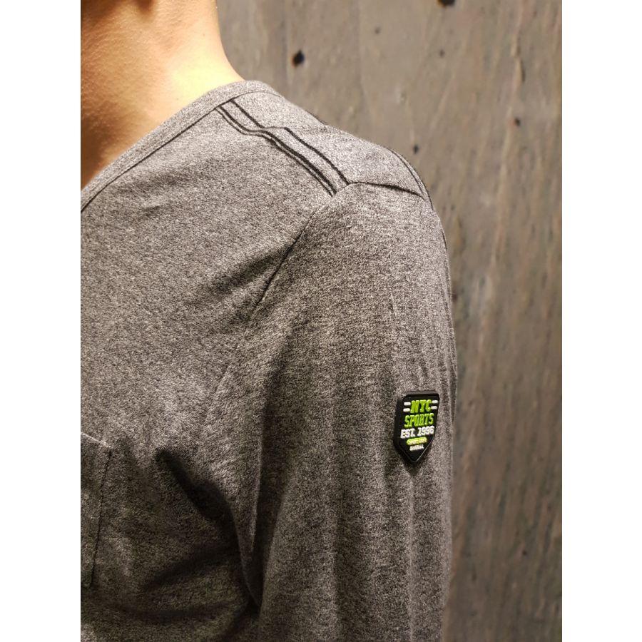 Kitaro Bob shirt buttons grey_3