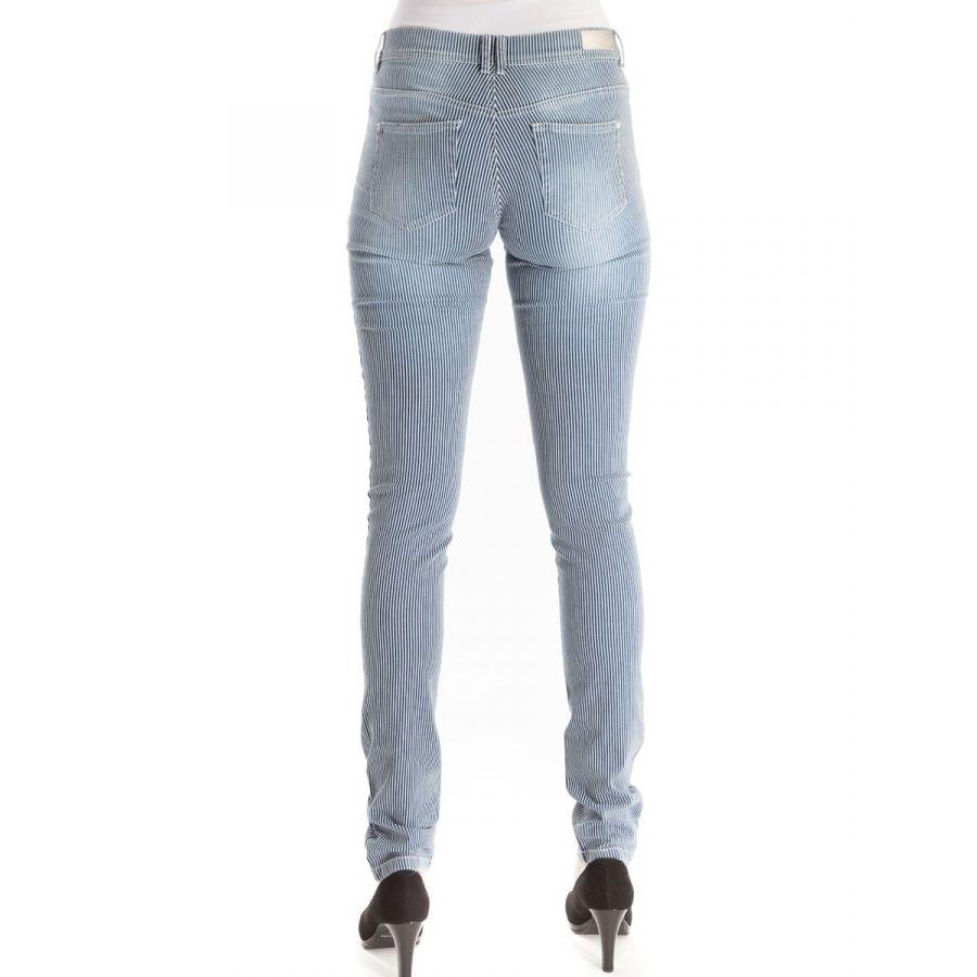 CMK Alina skinny stripe blue white_2