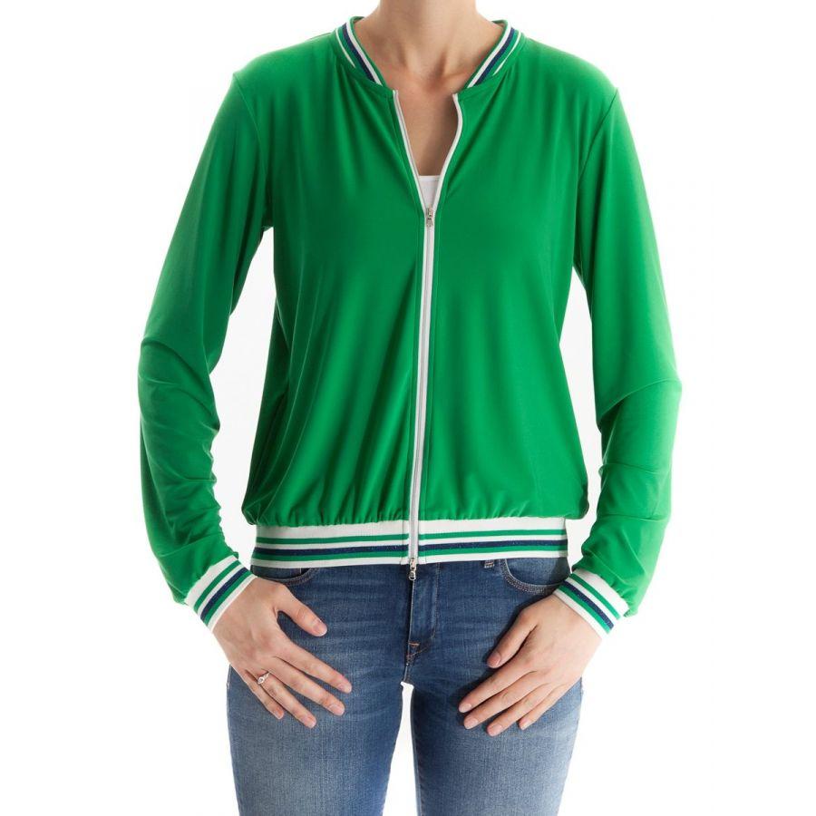 Only M Paula bomber vest snooze groen_1