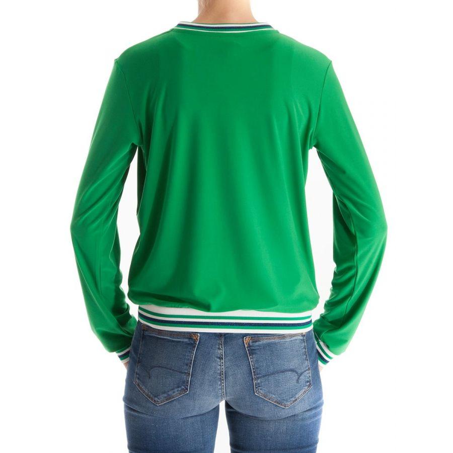 Only M Paula bomber vest snooze groen_2