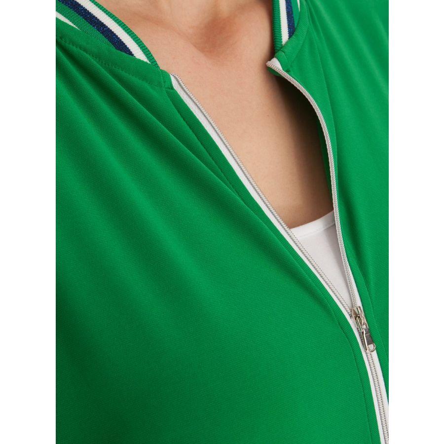 Only M Paula bomber vest snooze groen_3