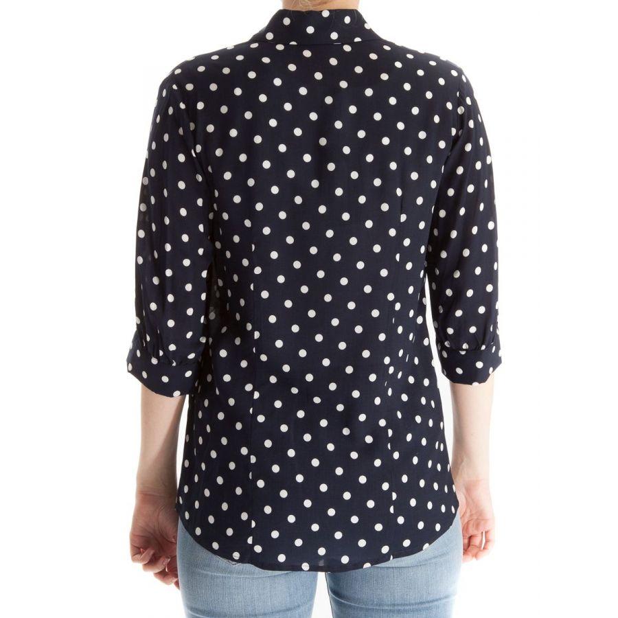 Only M Alexa blouse stip blauw/wit_2