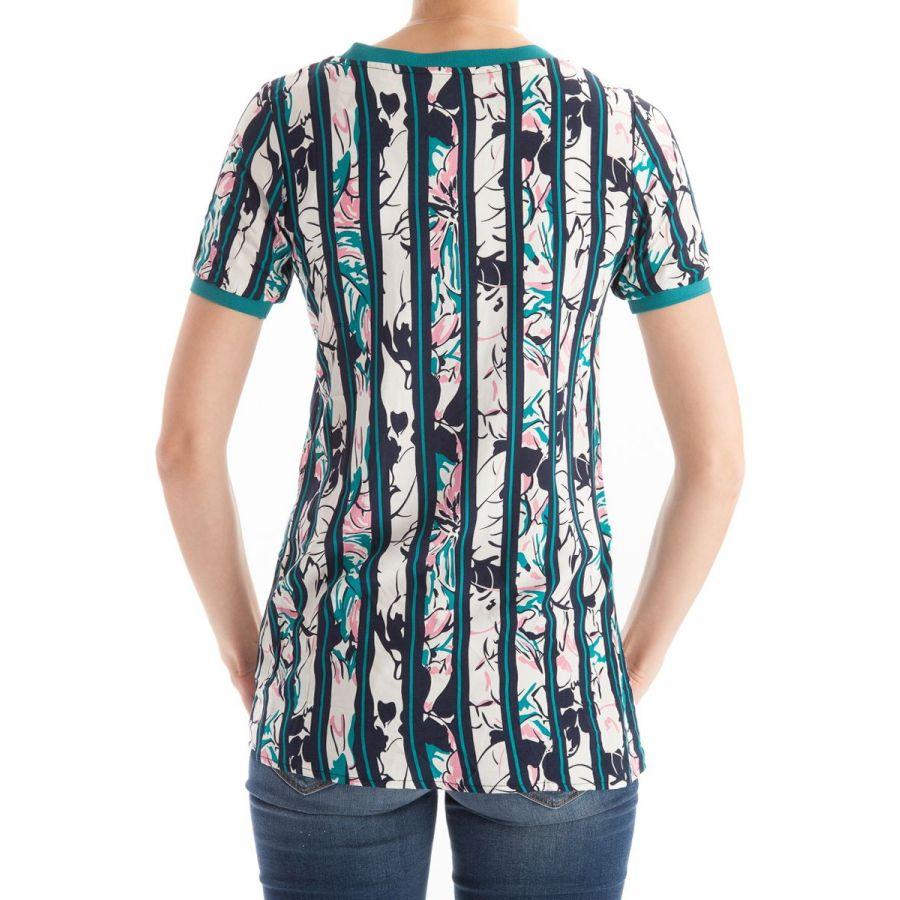 YEST Odet shirt lang pine green print_3