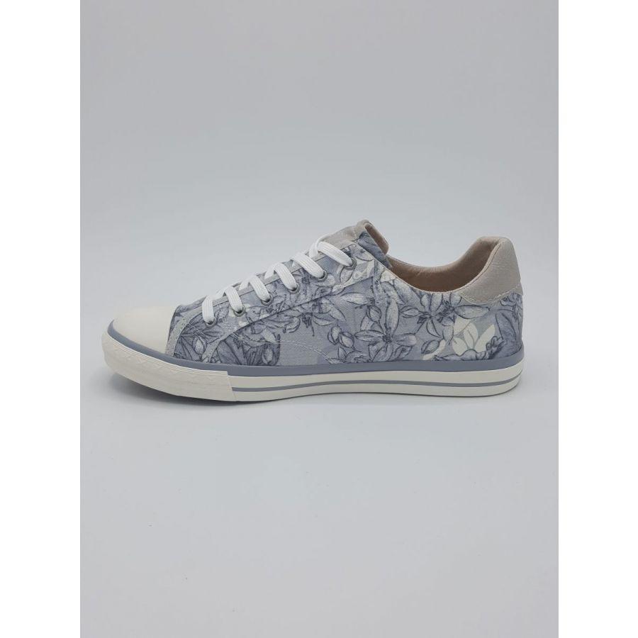 Mustang Shoes Honey sneaker canvas print bloem sky_2