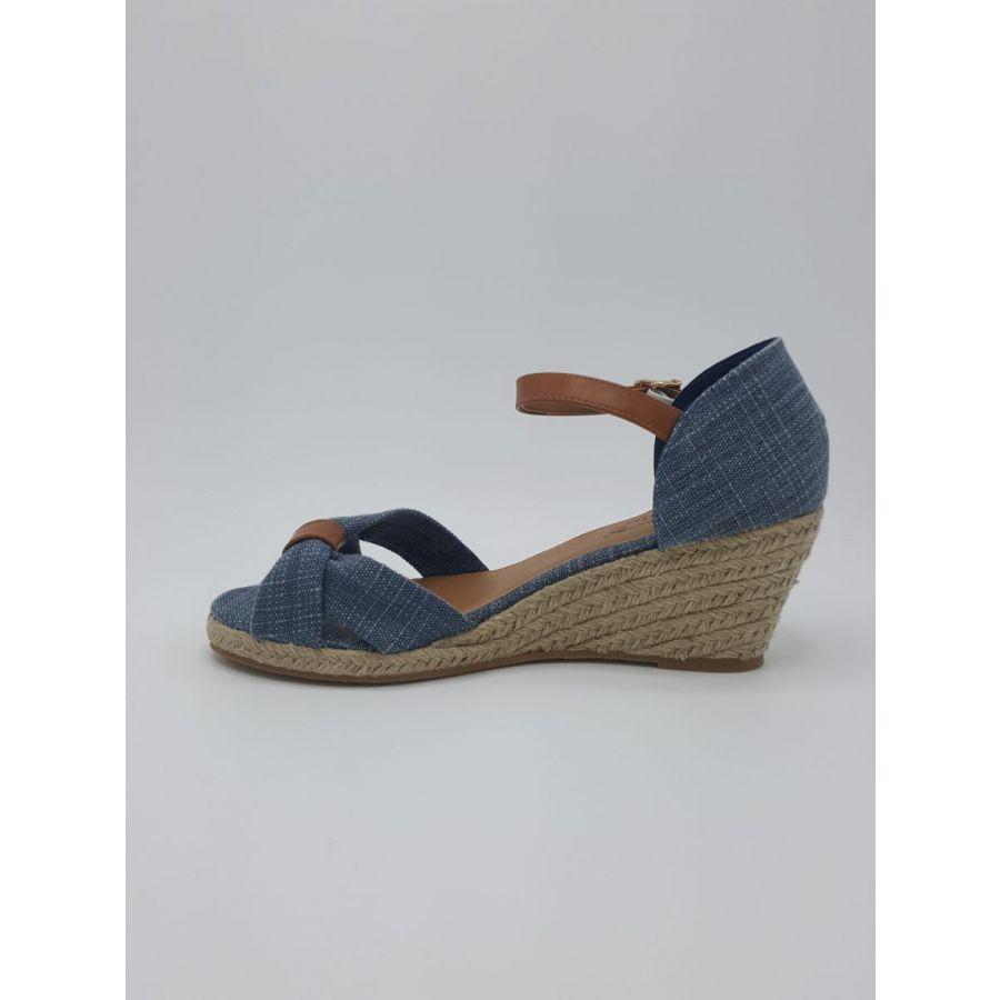 Mustang Shoes Iris sleekhak hoog blauw_2