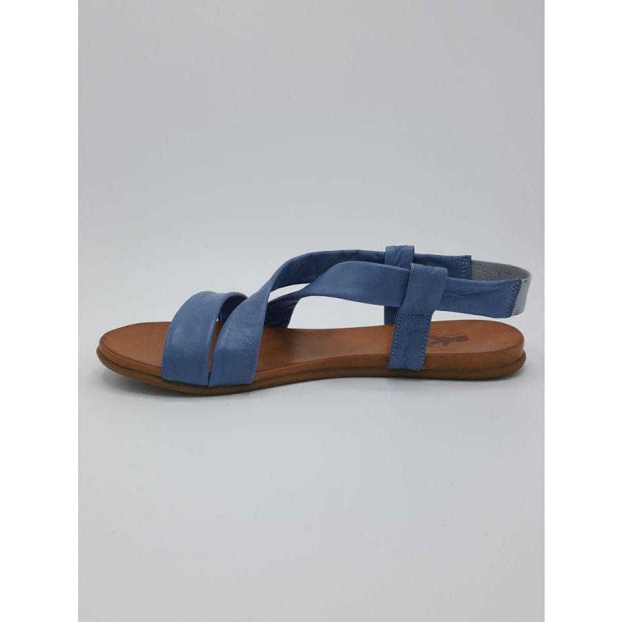Mustang Shoes Liv sandaal kruisband leer lichtblauw_2
