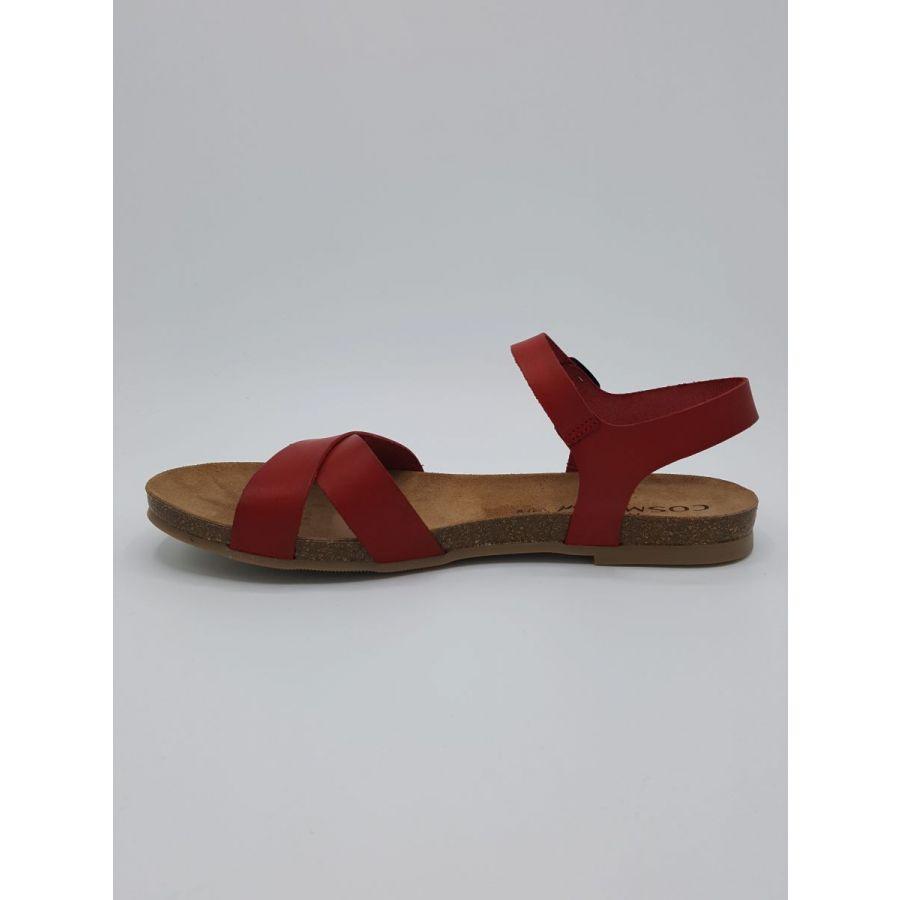 Cosmos Tess sandaal rood_2