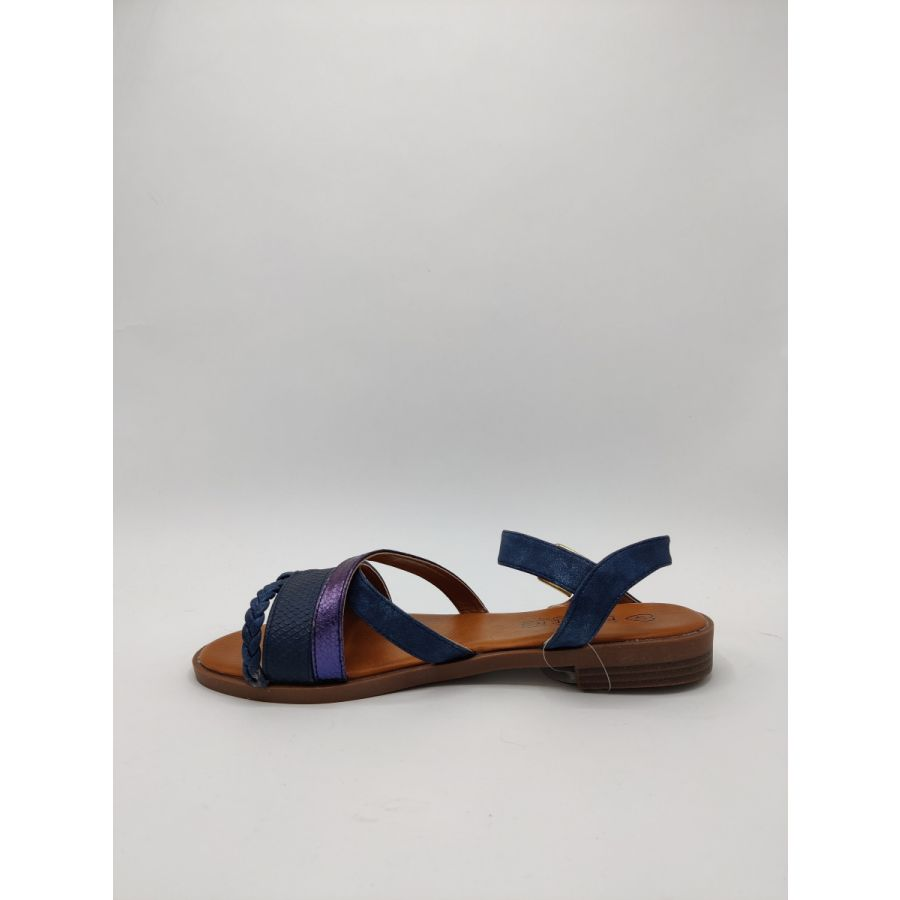 Fitters Lara sandaal navy_2