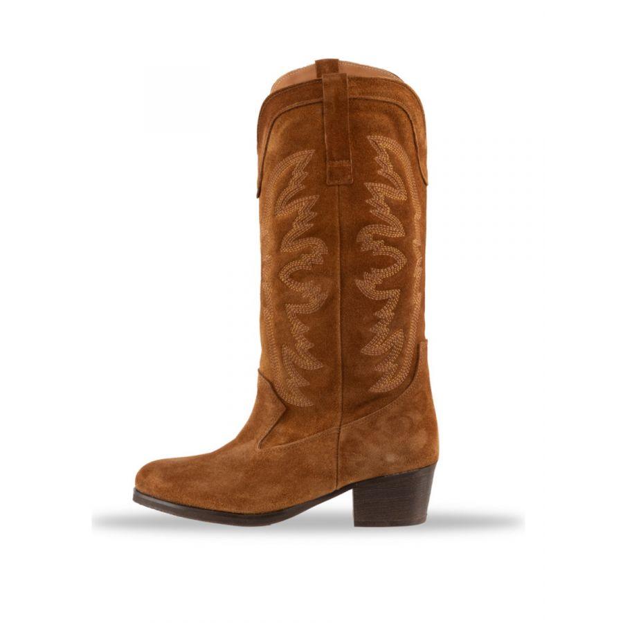 Babouche Inez boot tabacco_1