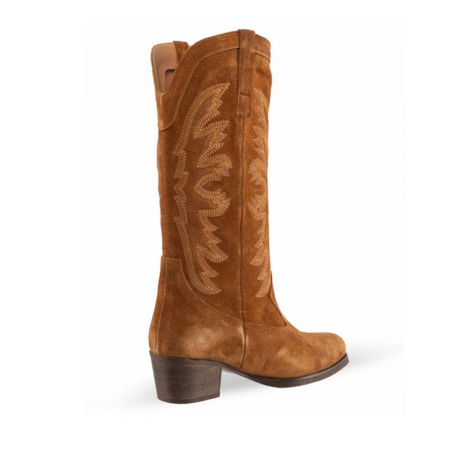 Babouche Inez boot tabacco_2