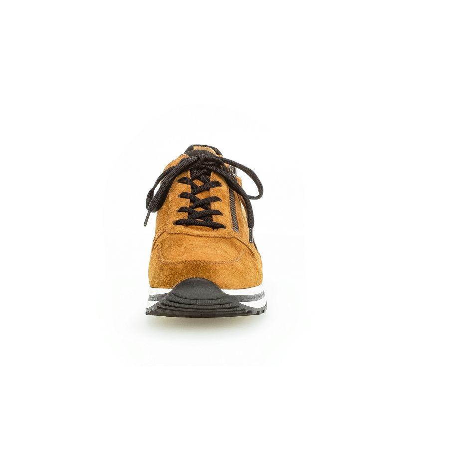 Gabor Qate print sneaker camel/zwart_5