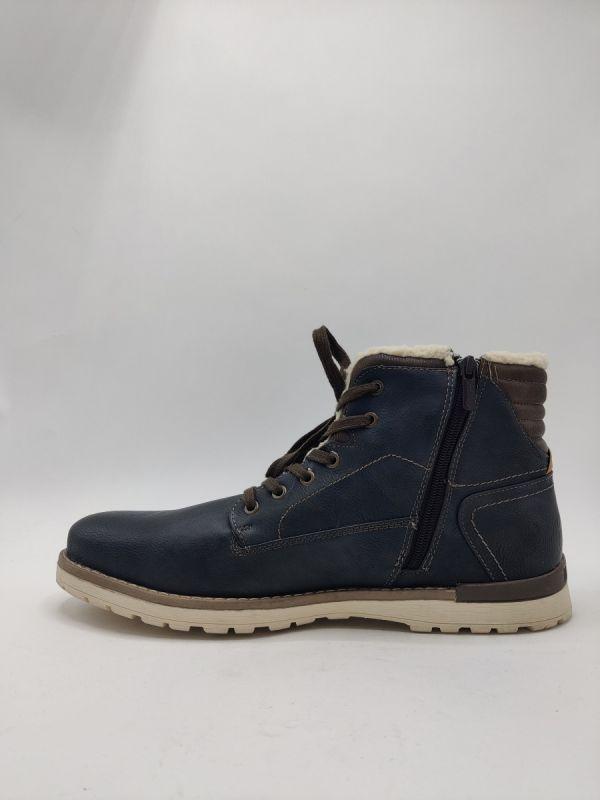 Mustang Shoes Halifax sneaker antraciet_2
