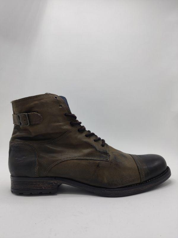 Mustang Shoes Lane laars 777 khaki_1