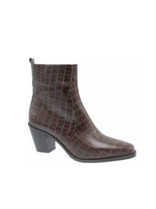 Babouche Emma boot dark brown_1