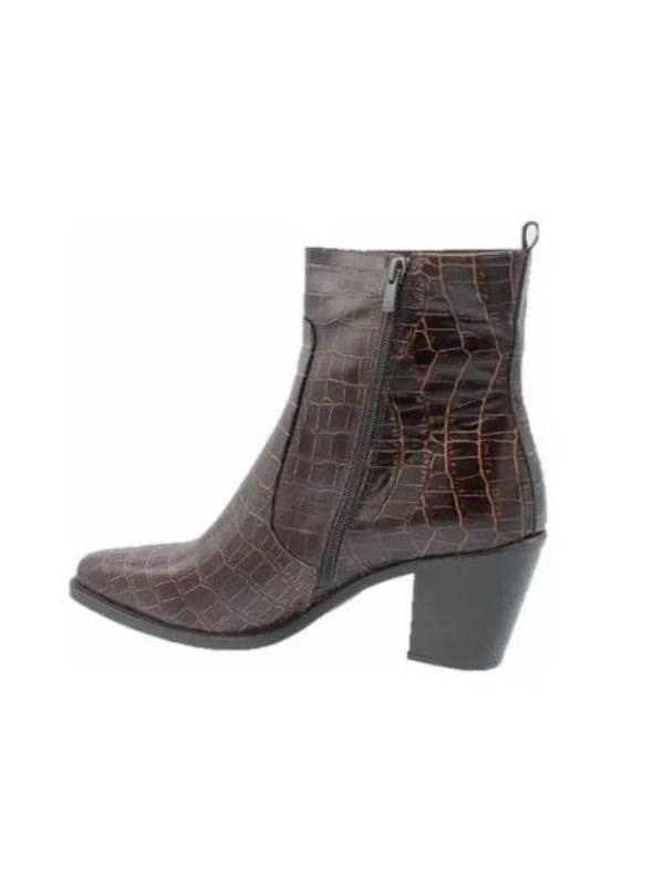 Babouche Emma boot dark brown_2