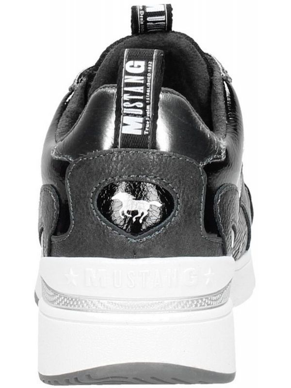 Mustang Shoes Lore sneaker graphit snake _3