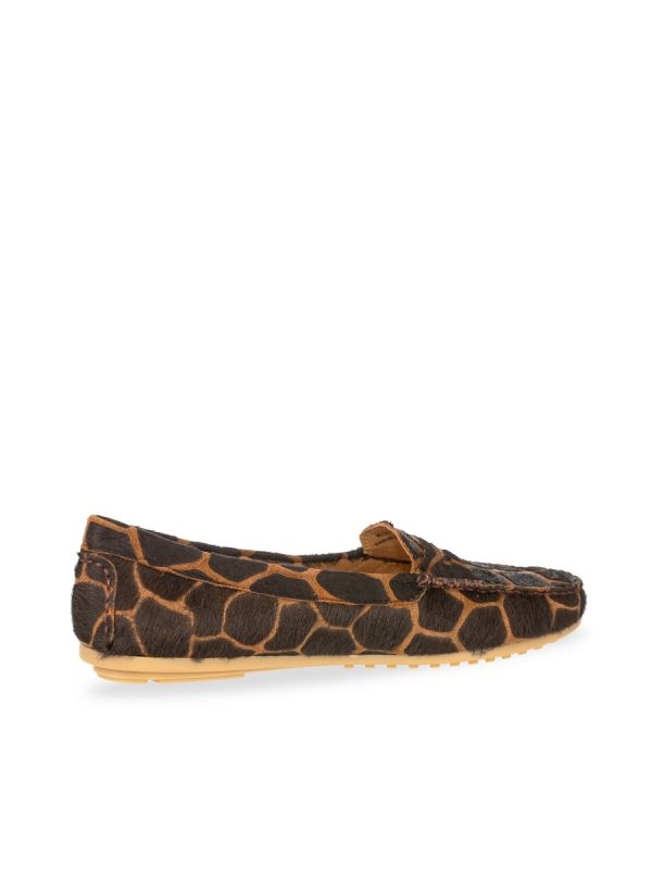 Babouche Abella moccasin giraf brown_2