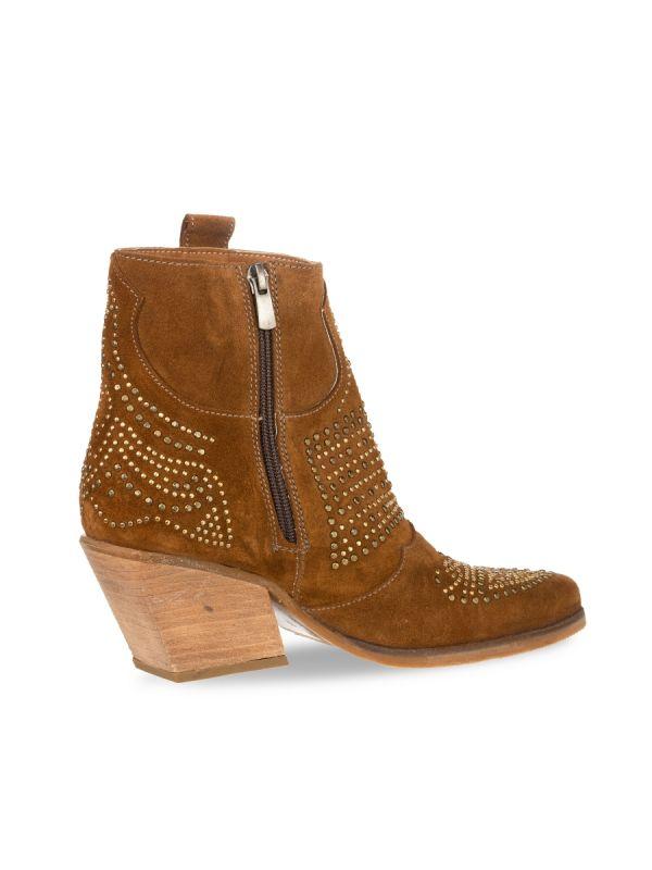 Babouche Jara boot tabacco_2