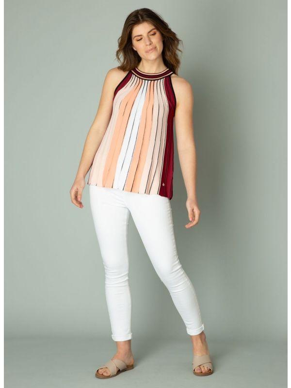 YEST Ingeborg top stripe pastel coral_3