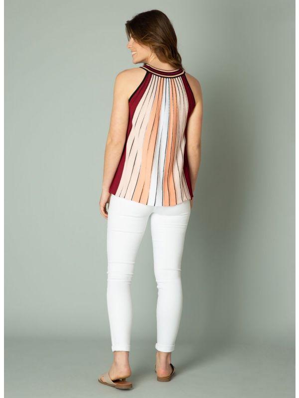 YEST Ingeborg top stripe pastel coral_4