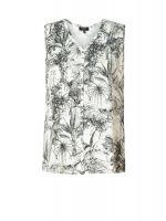 YEST Ilza blouse shirt black white_1