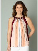 YEST Ingeborg top stripe pastel coral_2