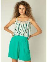 YEST Kaylee top stripe jungle green_2