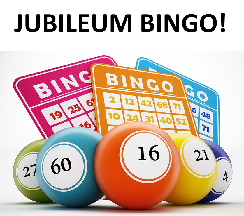 Jubileum Bingo met mooie prijzen